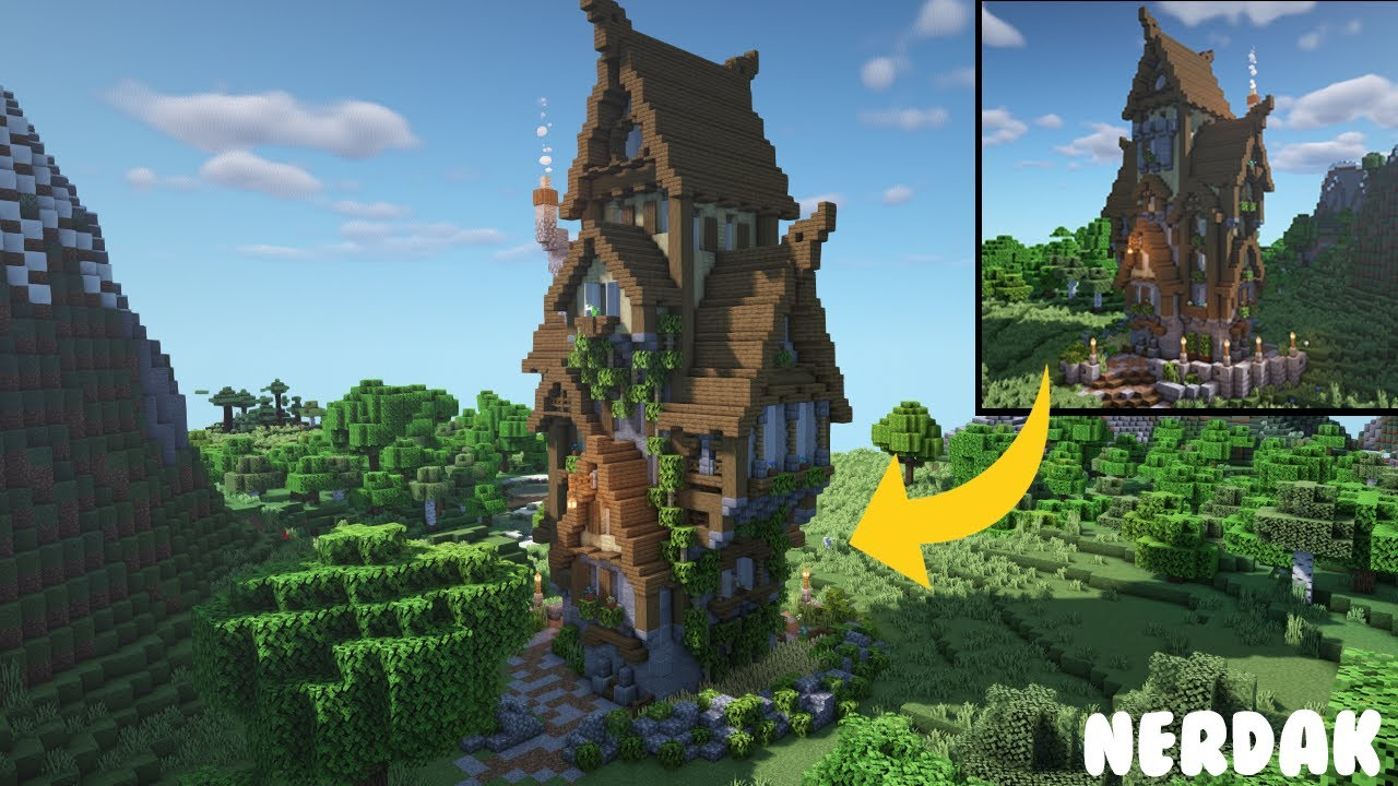 Minecraft Medieval Tower House