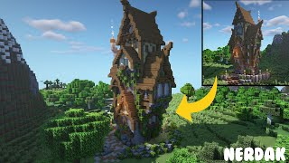 Minecraft Medieval Tower House YouTube