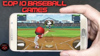 TOP 10 Best Free Baseball Mobile Games Android/IOS 2020
