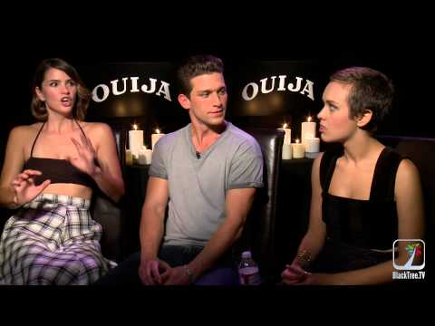 Ouija Interview With Shelly Hennig Daren Kagasoff And Olivia Cooke