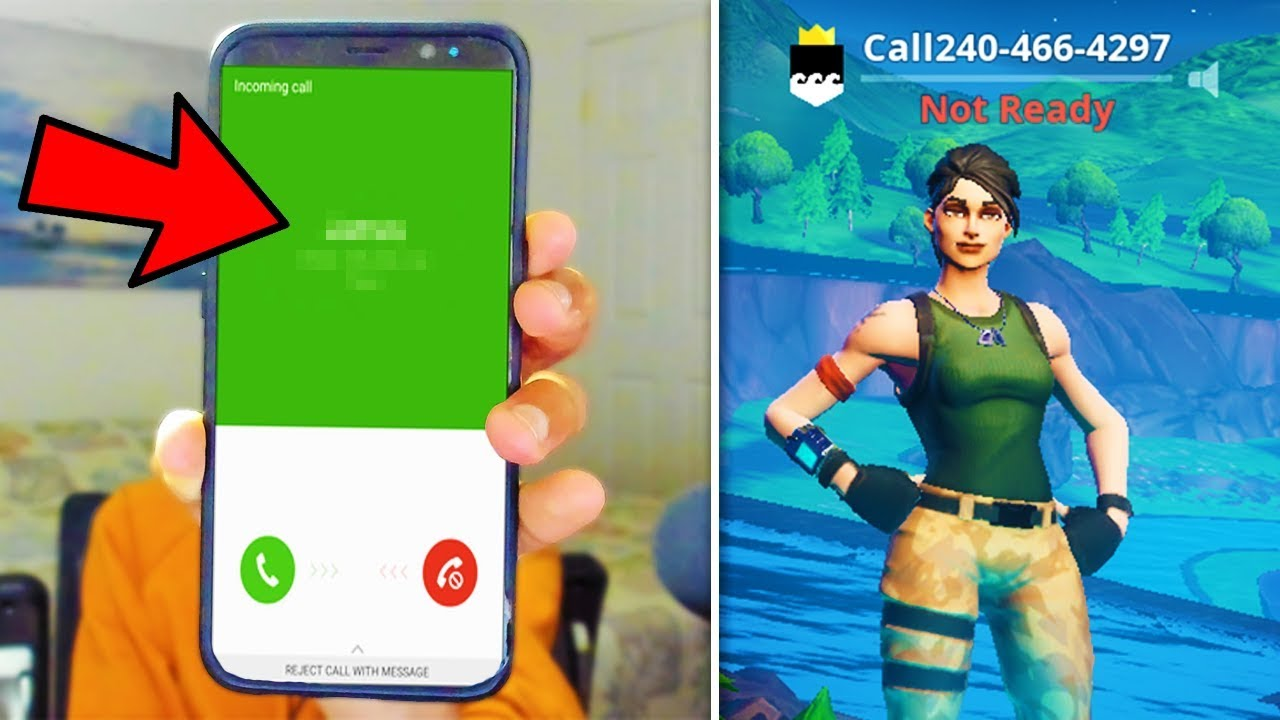 I put my PHONE NUMBER in my Fortnite Name and thirsted every kill.. - YouTube