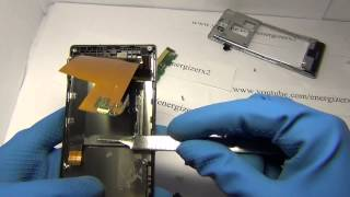 Sony Xperia J removed lcd DIY Разборка Demontage Energizerx2