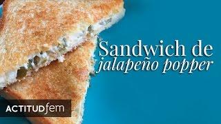 Sandwich De Jalapeño Popper