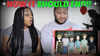"""""""How IT Should Have Ended"""" REACTION!!!"""