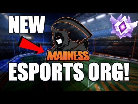 I JOINED A NEW ESPORTS ORG! + Competitive 3v3 Gameplay (Rocket League) thumbnail