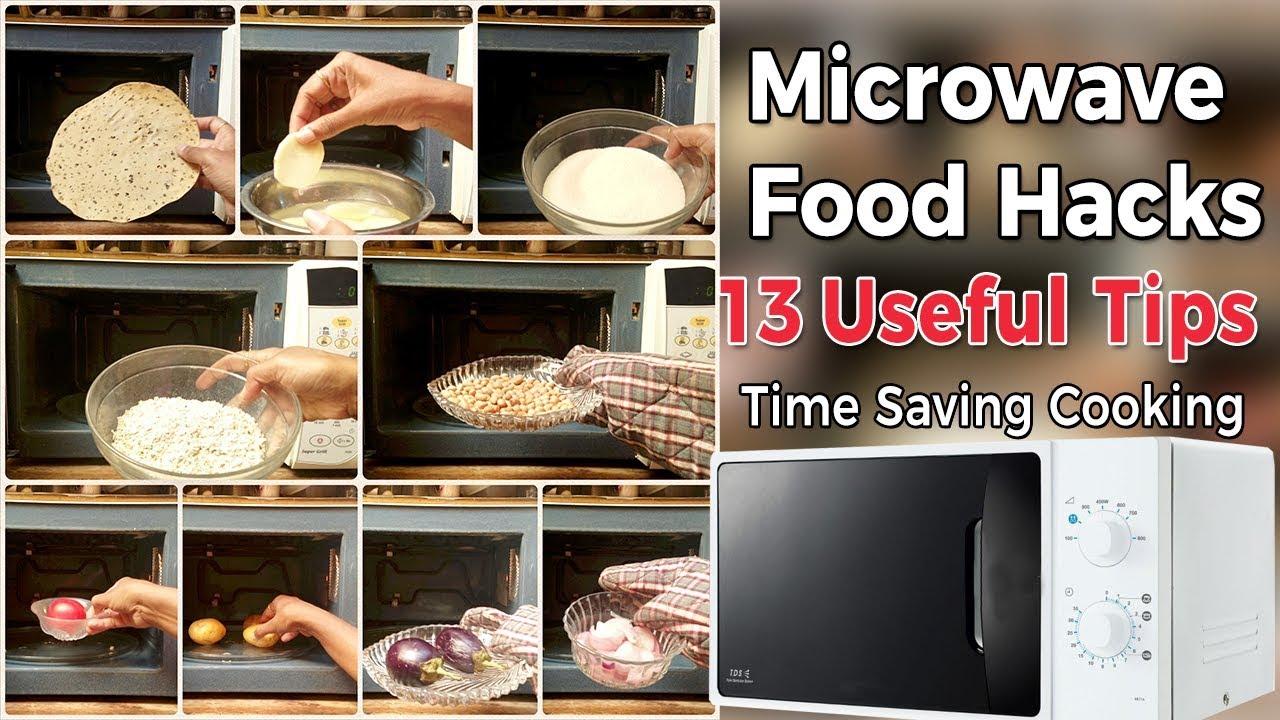 13 Amazing Microwave Food Hacks Microwave Tips Amp Tricks