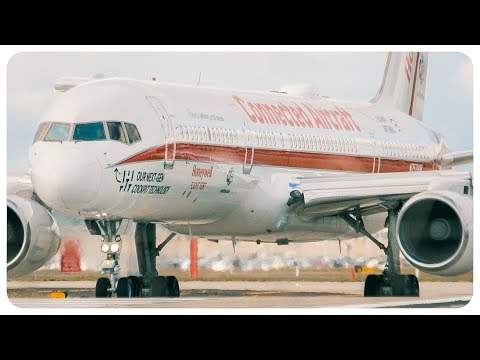 RARE Honeywell International Boeing 757 Takeoff at Melbourne Airport | N757HW