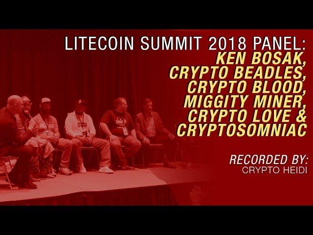 Litecoin Summit 2018: Social Media for Crypto Mass Adoption Panel