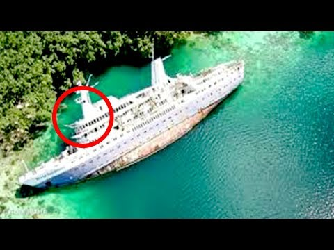 Top 10 Mysterious Cases of Abandoned Ships