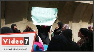 بالفيديو.. سبب مسيرة سكان