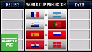 World Cup round of 16 predictions: Argentina vs. France, Portugal vs. Uruguay, and more   ESPN FC