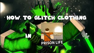 [OLD] How to glitch clothing in Prison Life (Roblox)