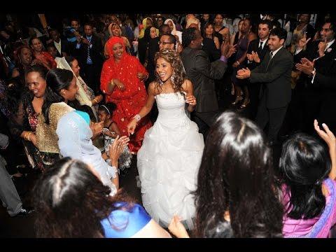 Arabic Group Dance at Iraqi Somali Wedding Reception in Toronto | GTA Photographer Videographer