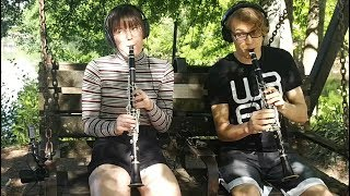Identikit - The Little Finger Tango // live clarinets playthrough