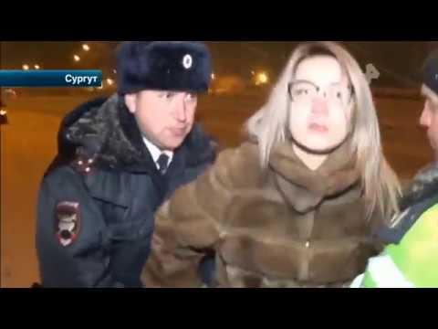 В Сургуте задержали упрямую автолюбительницу