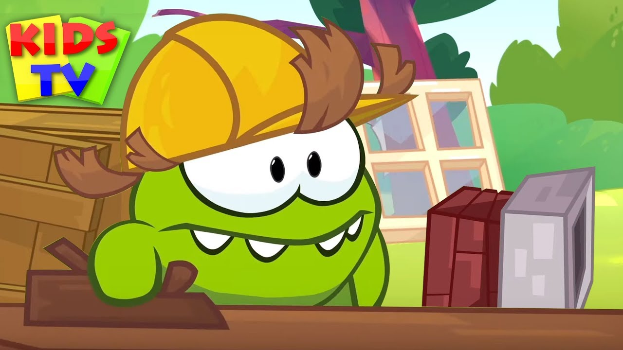Om Nom Stories - Engineer Dream Job | Funny Cartoons for Kids | Videos for Children
