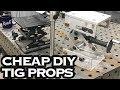 Cheap and DIY TIG Welding Prop Fixture Jig Tools