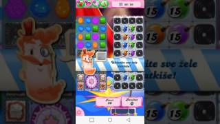 Candy Crush Saga 1384 level
