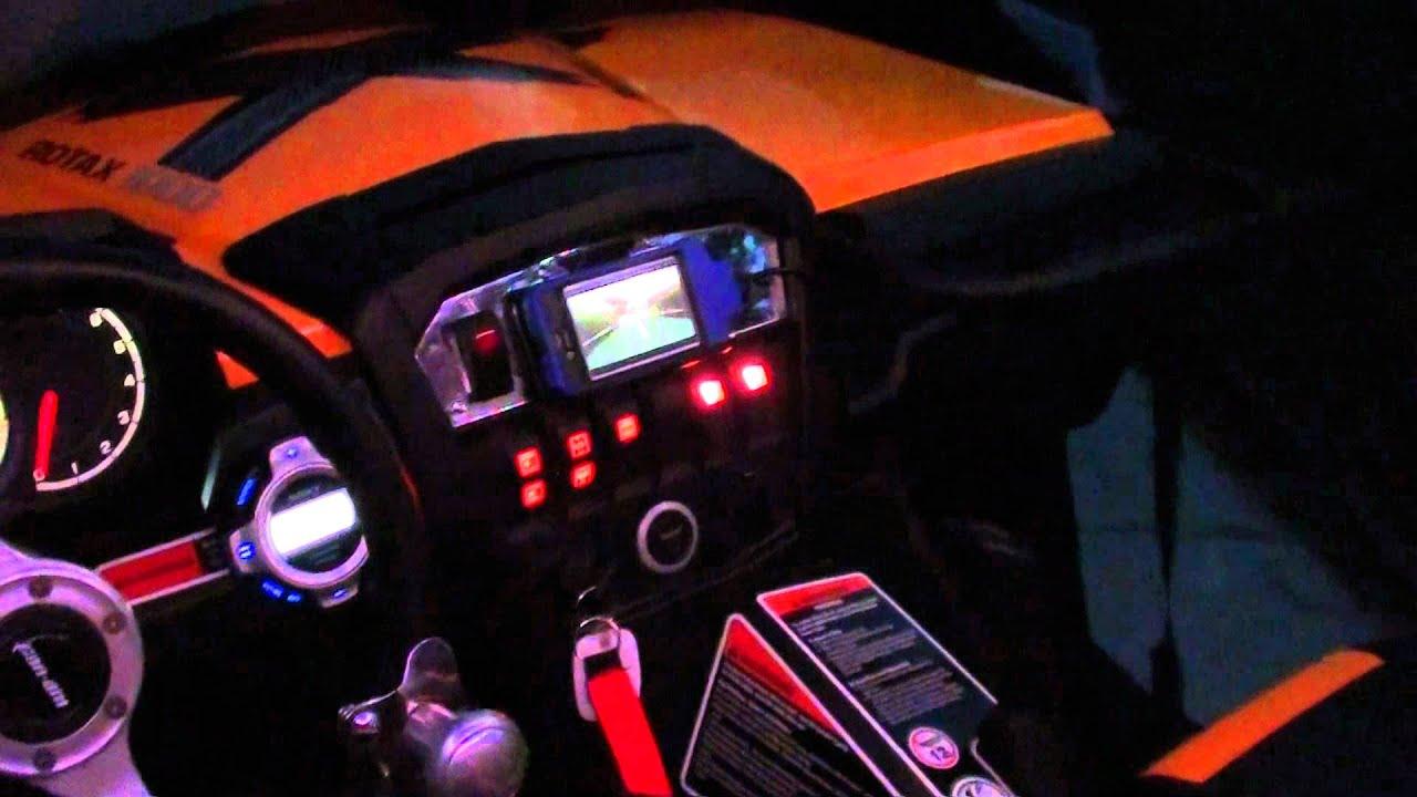 Light Bar Wiring Diagram Can Am Ford Transit 2007 Commander Lights Back Up Youtube