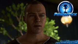Detroit Become Human - DEFEND YOURSELF Trophy Guide (Markus Pushes Leo)
