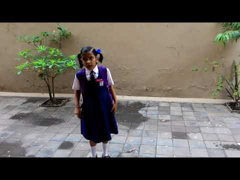 A Hare and a Tortoise story By Kriti Rajput Class-1 2016