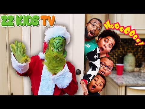 Grinch Captured ZZ Dad! ☃️🎄😱 (Is The Family with The Gingerbread Man?)