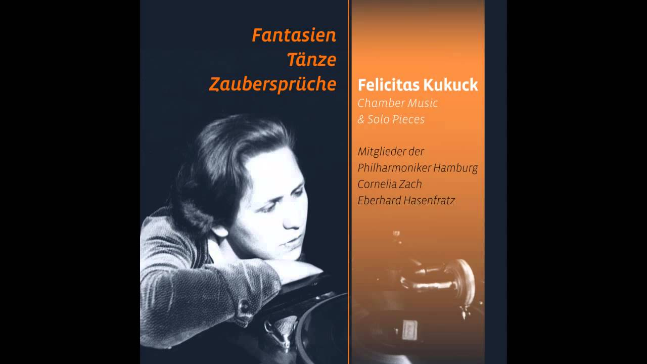 Felicitas Kukuck: Es ist ein Schnitter, heißt der Tod  Klaviervariationen