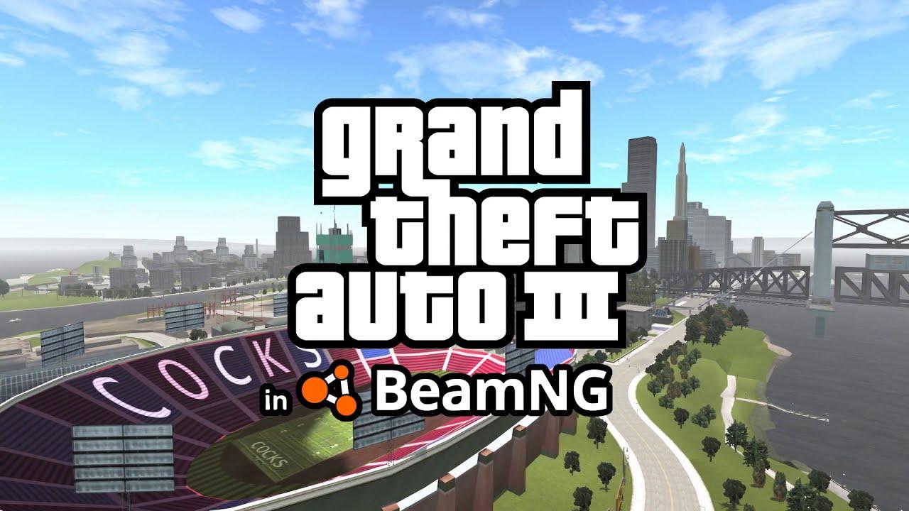 Released - GTA 3 Liberty City 1 0 | BeamNG
