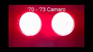 1970 - 1973 Camaro LED Sequential Tail Lights by Easy Performance Products