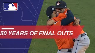 The final play and celebration from each World Series over the last 50 years