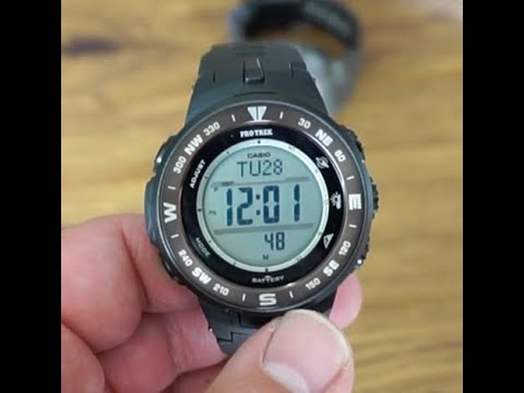 Casio Pro Trek PRG330 Watch Unboxing! Altimeter, Barometer, Compass, Thermometer!