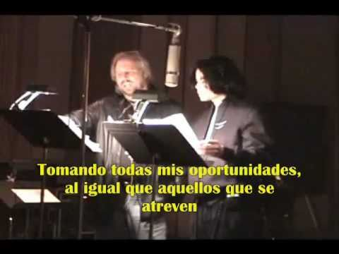 "MICHAEL JACKSON & BARRY GIBB ""ALL IN YOUR NAME"" (SUBTITULADO)"