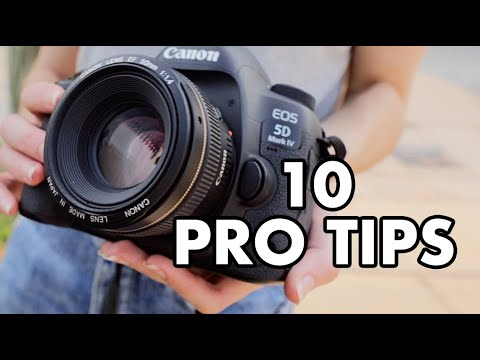 10 PRO Photography Tips You NEED To Know