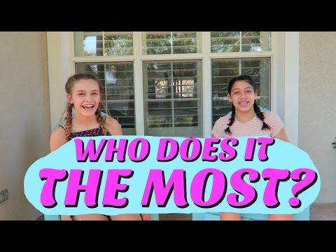 MOST LIKELY TO CHALLENGE| BFF EDITION