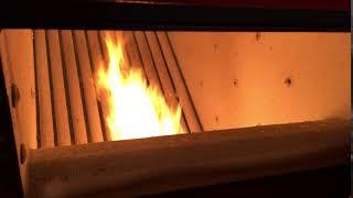Работа пеллетной горелки Eco Palnik Uni Max 100 кВт(, 2017-12-08T13:37:37.000Z)