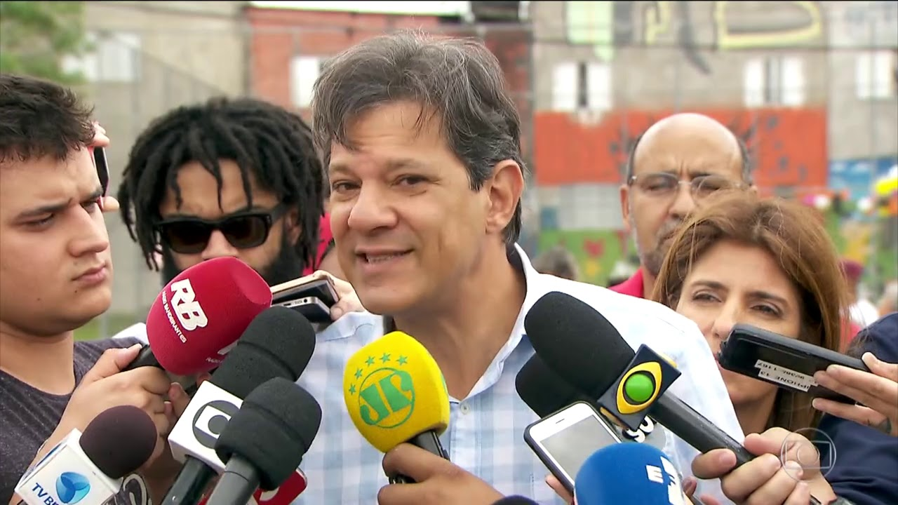 Haddad admite erros do PT e faz critica a Bolsonaro