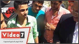 """مواطن:""""النور بيقطع عندنا""""..ومحافظ القاهرة يرد:""""يعنى بنى سويف اللى جميلة"""""""