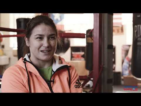 Katie Taylor on women's boxing, legacies, and eying up Serrano // Taylor vs Volante // March 15