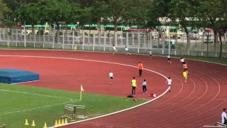 西貢區-第二十屆小學學界田徑比賽2016-男甲4x100米接