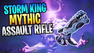 New MYTHIC Assault Weapon STORM KING'S SCOURGE Save The World Gameplay
