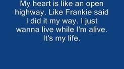 Bon Jovi - It's my life w/ lyrics