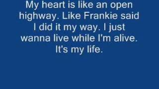 Bon Jovi - It's my life w/ lyrics thumbnail