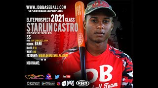Starlin Castro SS 2021 Class From (Miguelon Baseball Academy) Date Video: 19.02.2020