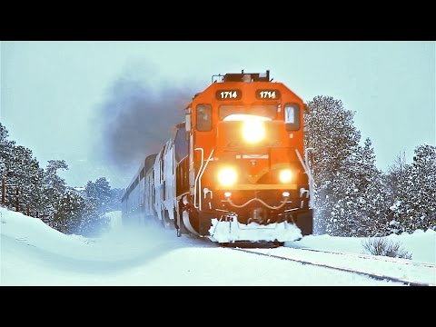 Thumbnail: BNSF #1714 leads Amtrak's Southwest Chief w/ Heritage #145 - 2/28/15