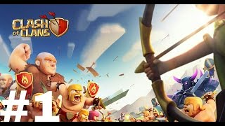 Clash of clans ep1(weird sign in account)