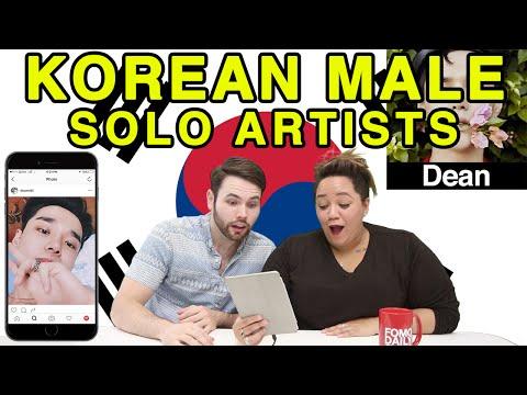 Like, DM, Unfollow: Korean Male Solo Artists