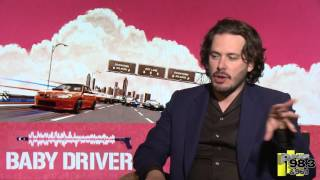 Edgar Wright talks hangin' w/ Killer Mike and Big Boi #CriscoKiddBlockParty