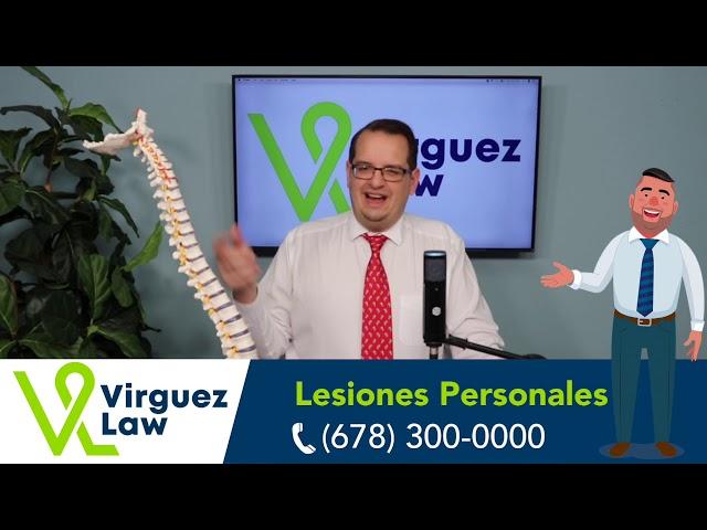 ¿Qué le pasa a la columna vertebral después de un accidente? Abogado Padron nos explica.