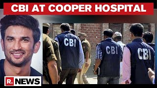 CBI Team Reaches Cooper Hospital For Further Inquiry On Day 6 Of Sushant Probe