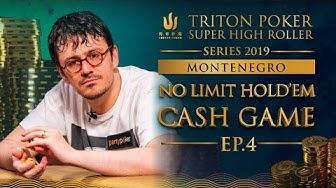 NLHE Cash Game Episode 4 - Triton Poker SHR Montenegro 2019